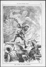 Blomfield, William, 1866-1938 :The spirit of his fathers. New Zealand Observer, Christmas issue, December 1915. - Ale...