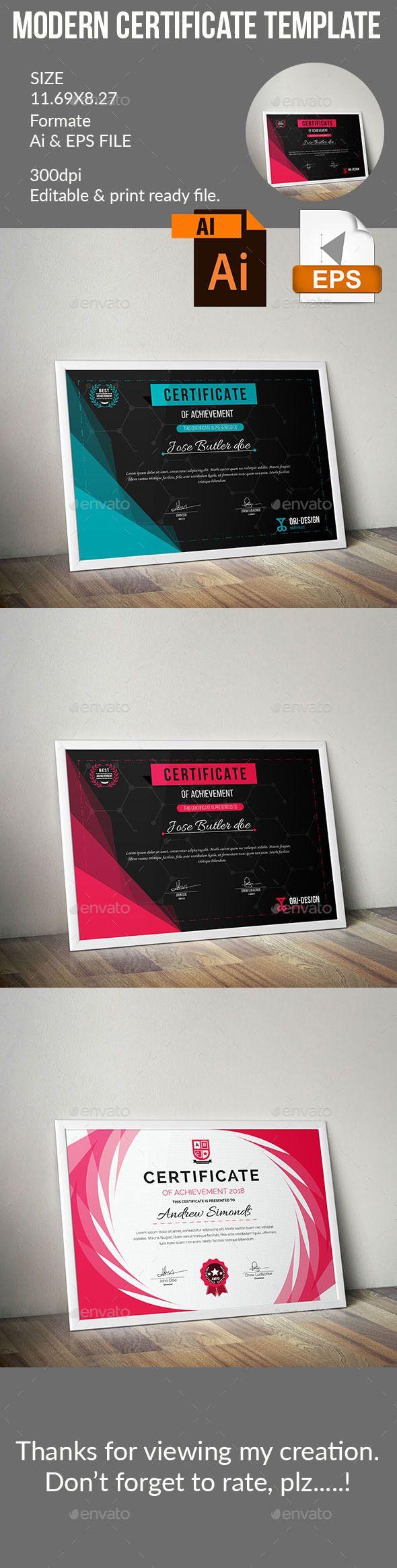 Certificate template certificate certificate design and template certificate template yadclub Choice Image