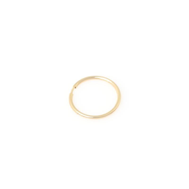 7d06c341846cd Ultra Slim Seamless Huggie- 14K Gold | Huggie Hoop Earrings ...
