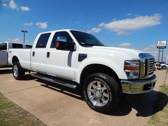 Cars For Sale 2008 Ford F350 4x4 Crew Cab Lariat In Duncan Ok