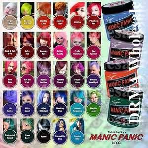 manic panic hårfarve