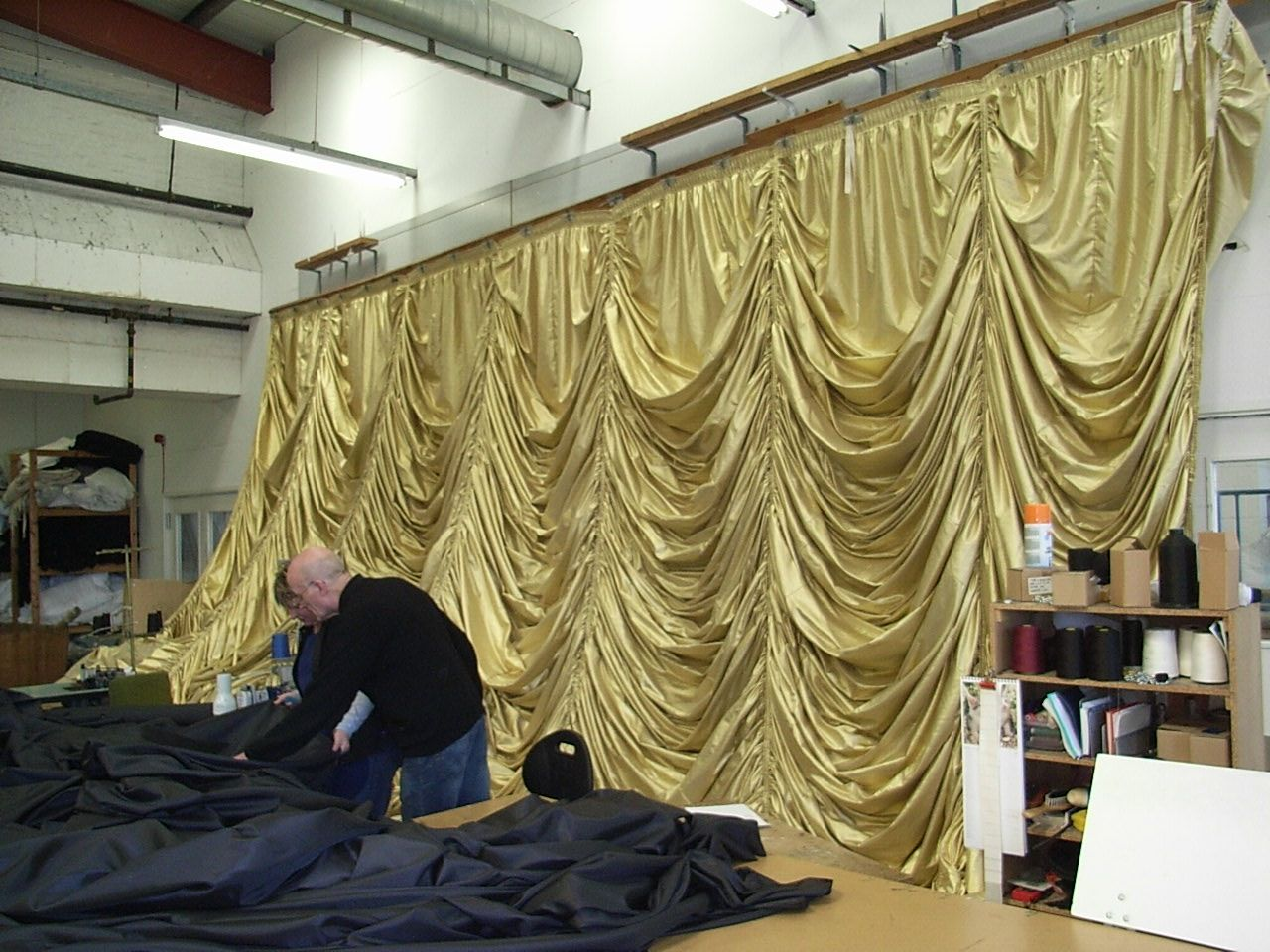 Stage Drape Manufacturers Front Of House Curtain Manufacturers