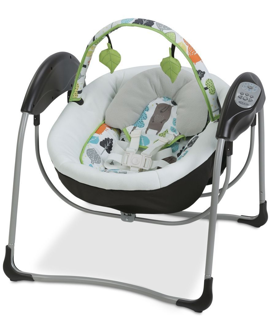 Comfort your little one wherever you are with the Graco Glider Lite Swing. The…