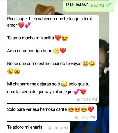 Conversaciones De Amor Estados Para Whatsapp Amor Conversaciones Whatsapp Imagenes De Amor