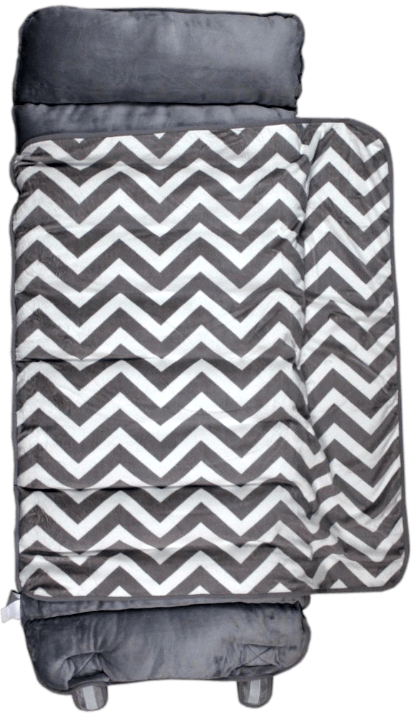 This Gray Chevron Thick Nap Mat Is Made From Chanille Fabrics And Is High Quality Most Nap Mats Use Simple 1 Batting Fo Nap Mat Grey Chevron Foam Mattress