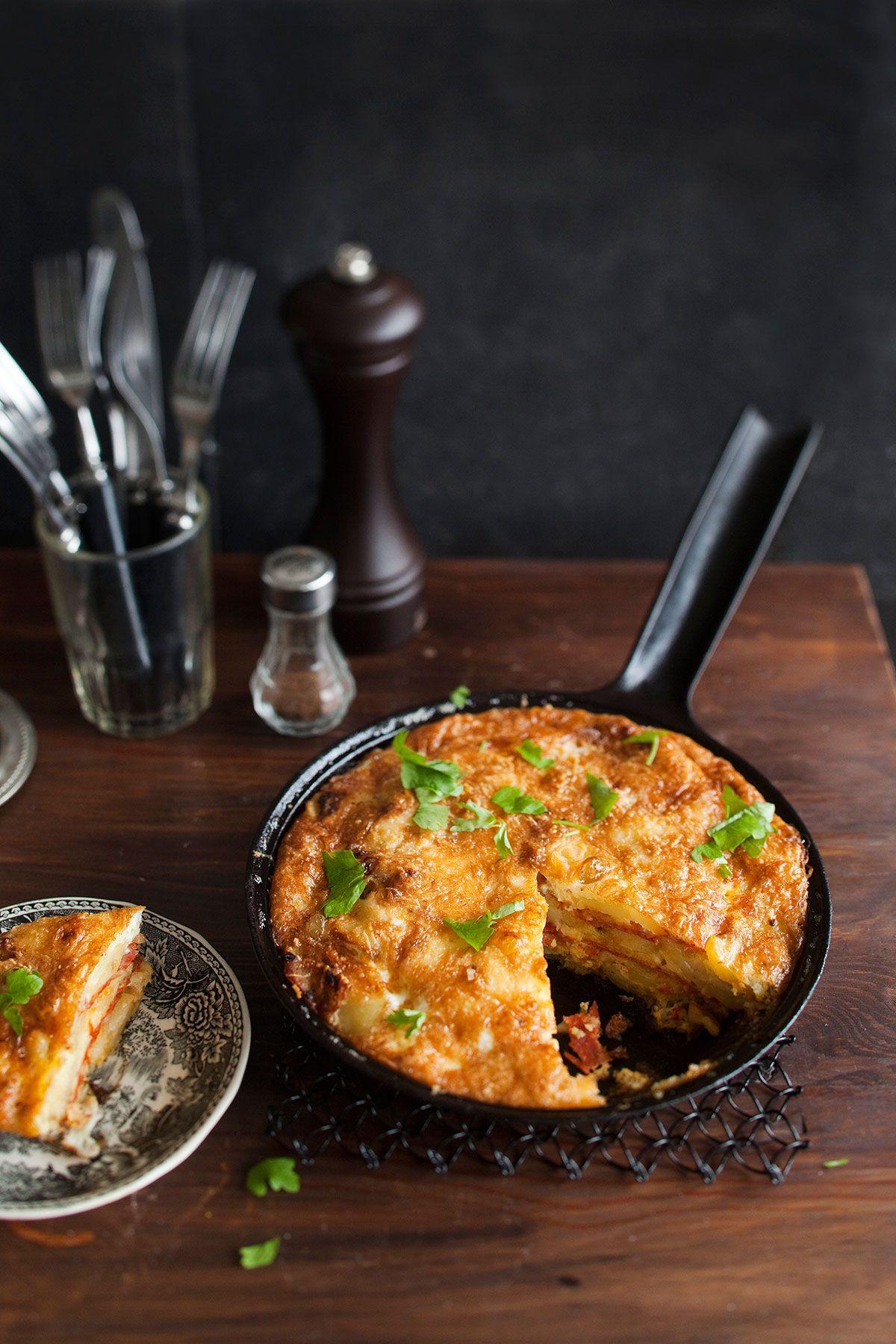 Chorizo-perunatortilla | Reseptit