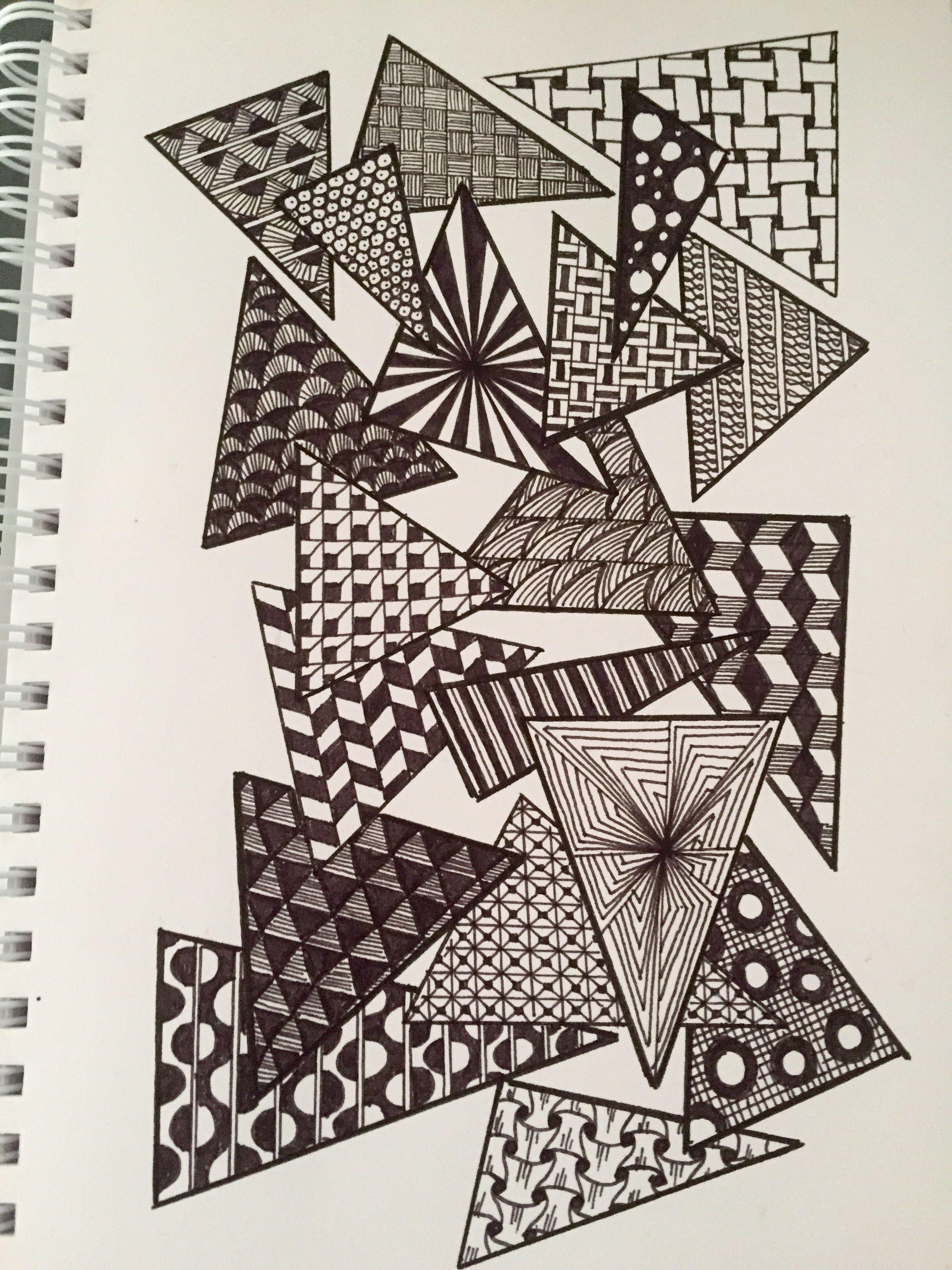 Pin By Ellie Noble On Doodles 2020 Zentangle Patterns Mandala