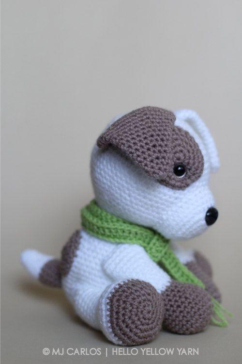 Crochet Amigurumi Puppy Dog PATTERN ONLY Jack Pup pdf | Häckeln ...