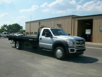 2012 Ford F550 W Jerr Dan 19 Wsrb Trucks For Sale Flatbed Towing Commercial Vehicle