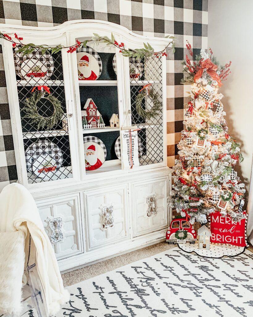 Christmas in my Office Hoosier Home Stories in 2020