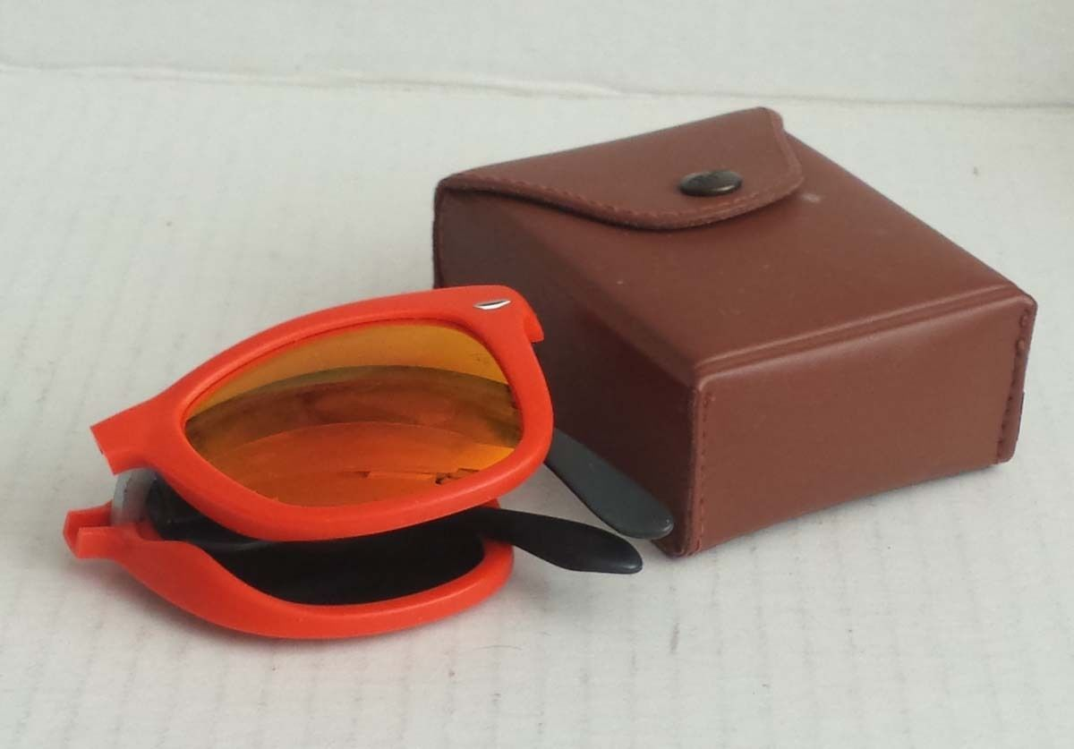 f1da49cf8e ... promo code for folding ray ban wayfarer sunglasses rb4105 mirrored  orange lens made in italy visit