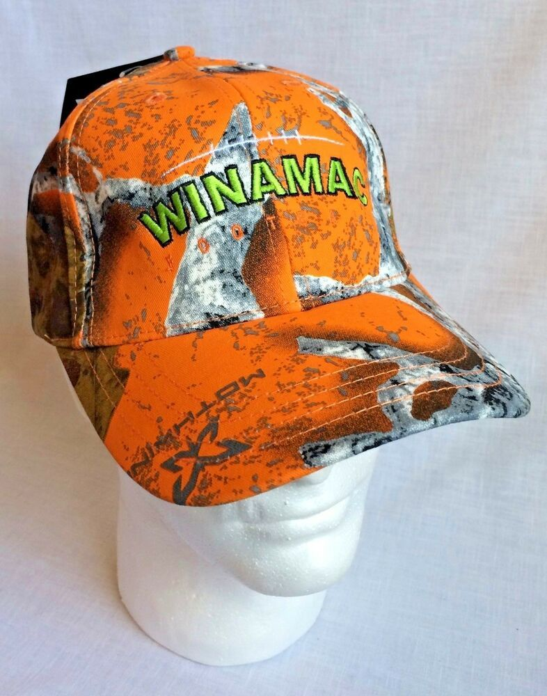 Mothwing Winamac Ball Cap Hat Strapback New With Tags Orange Camo Headwearprofessionals Baseballcap Ball Cap Hats Caps Hats