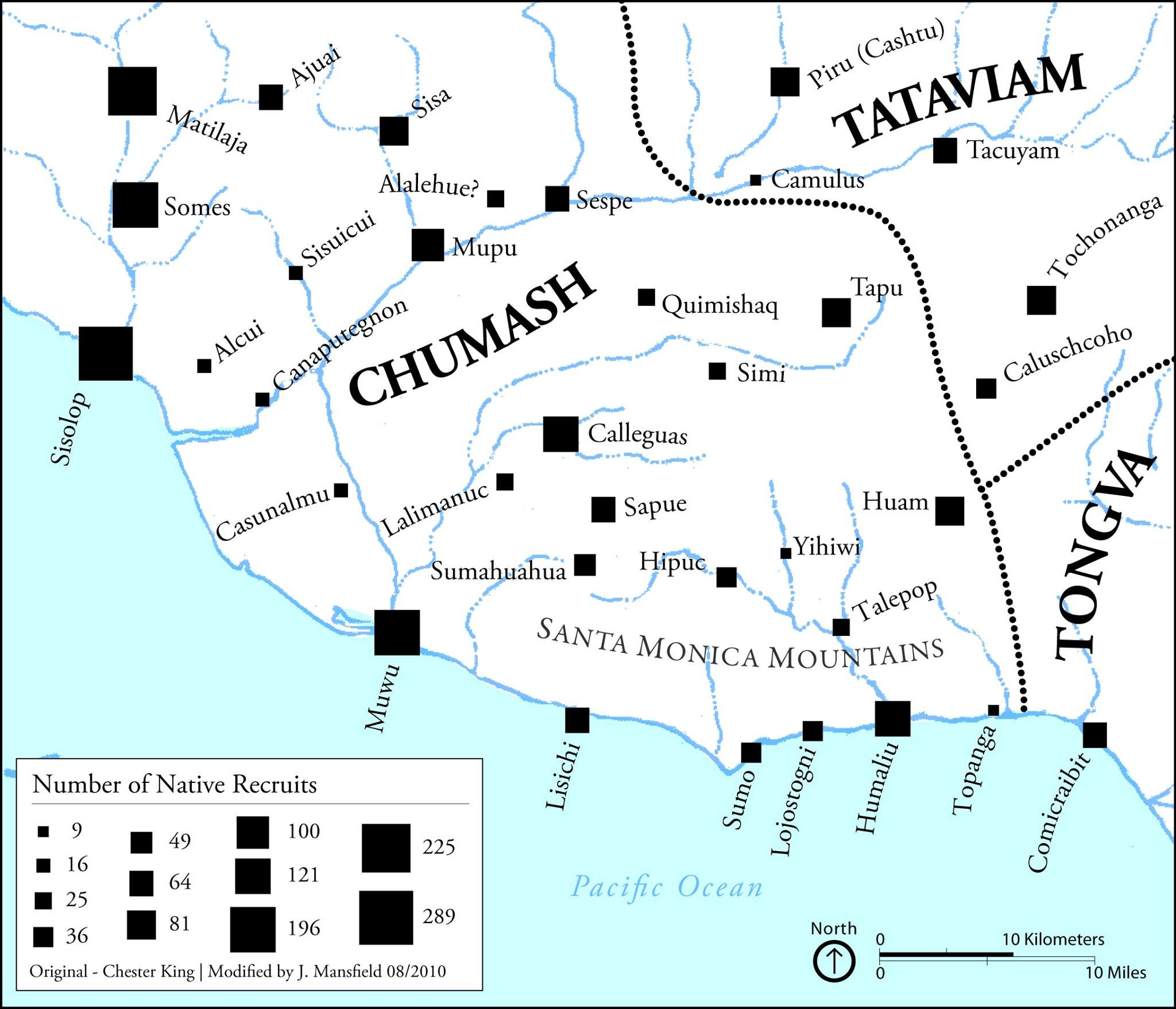 Map Of Native Americans In The Santa Monica Mountains Los Angeles Ca Chumash Tataviam And The Tongva Native American History American Heritage Santa Monica