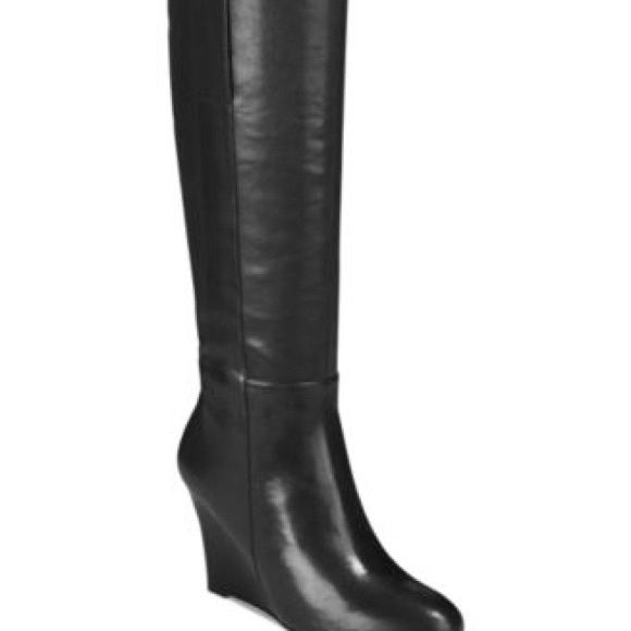 bb644ef281e9 Authentic Nine West Wedge Boots Authentic Nine West Oran Wedge Heeled Boots.  Chose From Black Leather