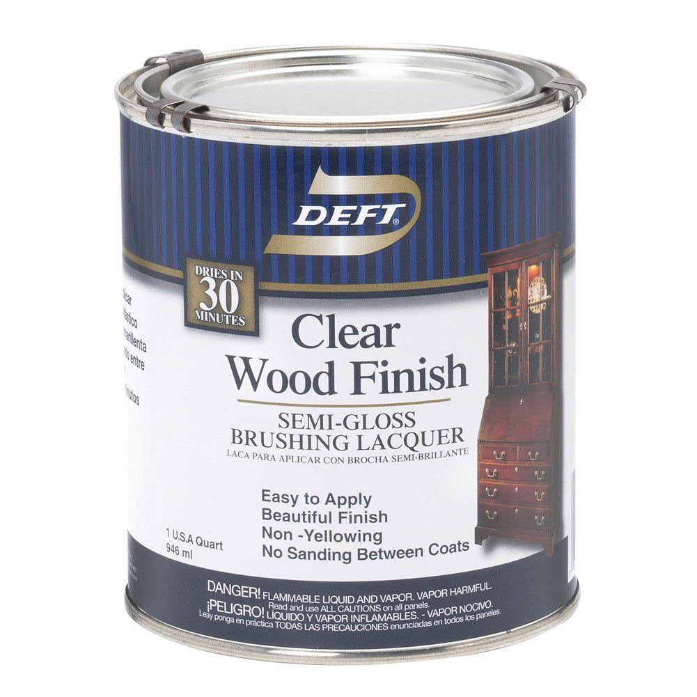 Deft Clear Wood Finish Craft Supplies Usa Wood Finish Wood Craft Supplies