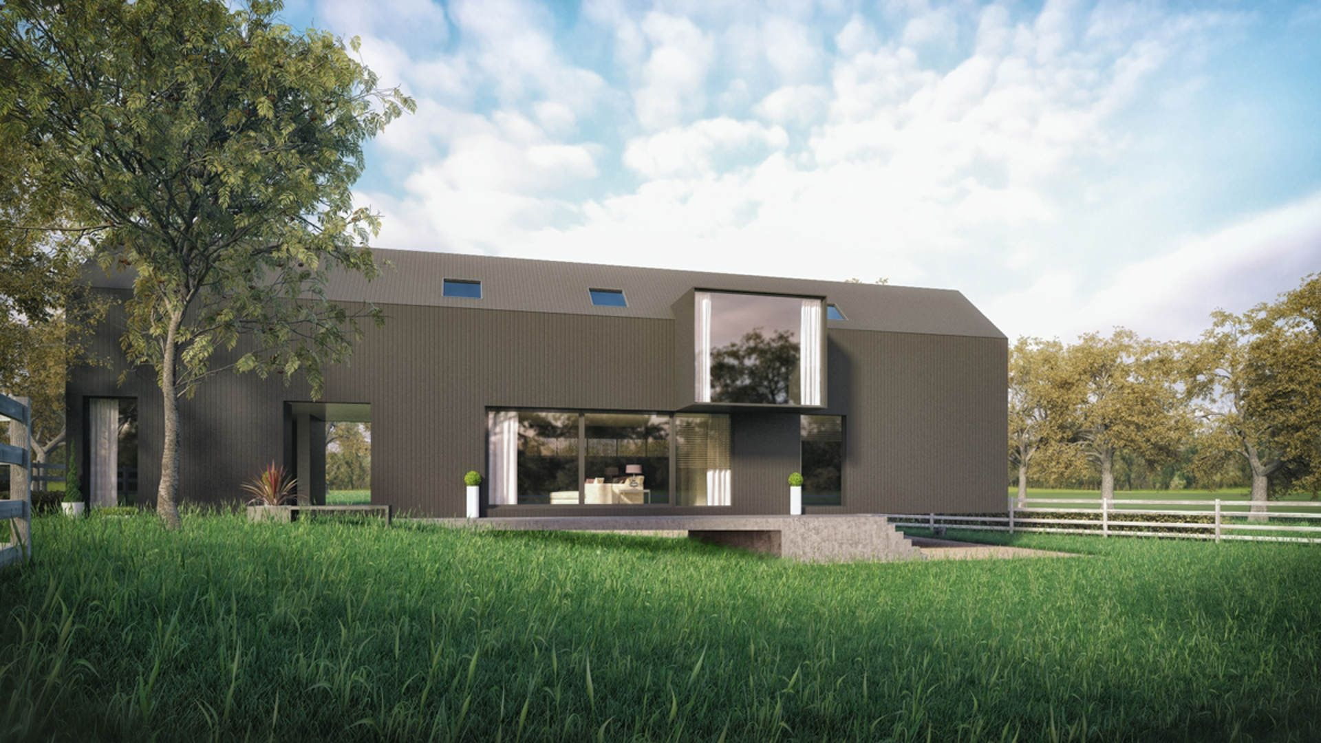 Ballyhome project 2020 architects small modern home modern homes architects modern tiny