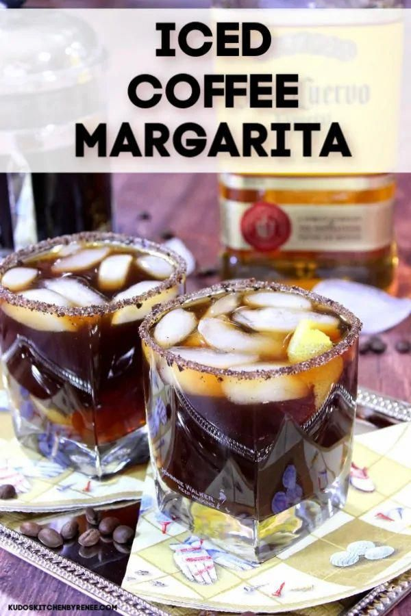 Iced Coffee Margaritas