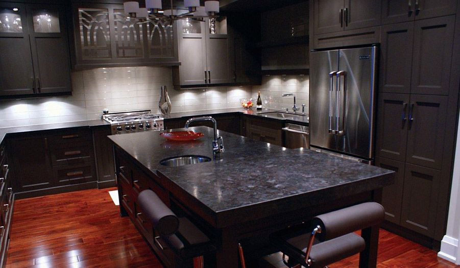 Leathered Antique Brown Granite | Antique Brown Granite Leather Finish  Granite Kitchen Vanity