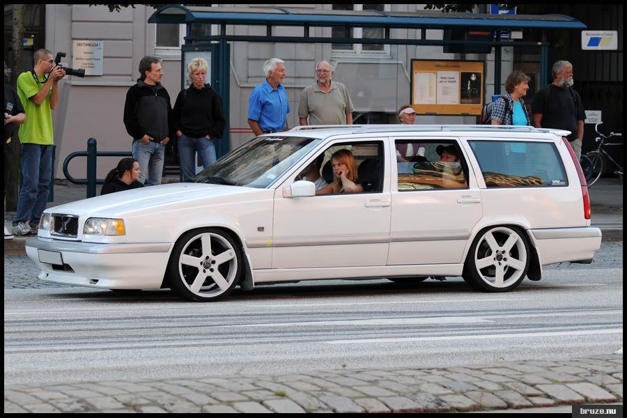 Volvo 850 White 2 Volvo Wagon Volvo 850 Volvo