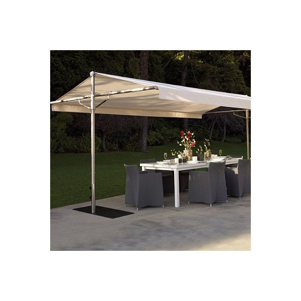 Ordinaire Frontgate Outdoor Papillon Shade ($4,995) ❤ Liked On Polyvore Featuring  Home, Outdoors, Patio Umbrellas, Umbrellas, Umbrellas U0026 Shading,  Rectangular Patio ...