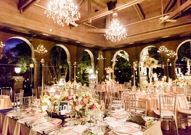 Josy And Brians Wedding Decor Avant Gardens Venue Coral Gables Country Club