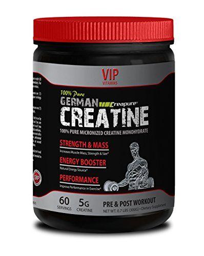 Stamina Boost German Creatine Powder Micronized Creatine Monohydrate Creapure 300g 60 Servings Pure Creati Creatine Monohydrate Micronized Creatine Creatine
