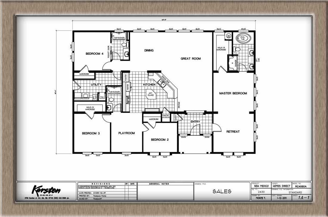 40x50 metal building house plans 40x60 home floor plans Blueprints of houses to build