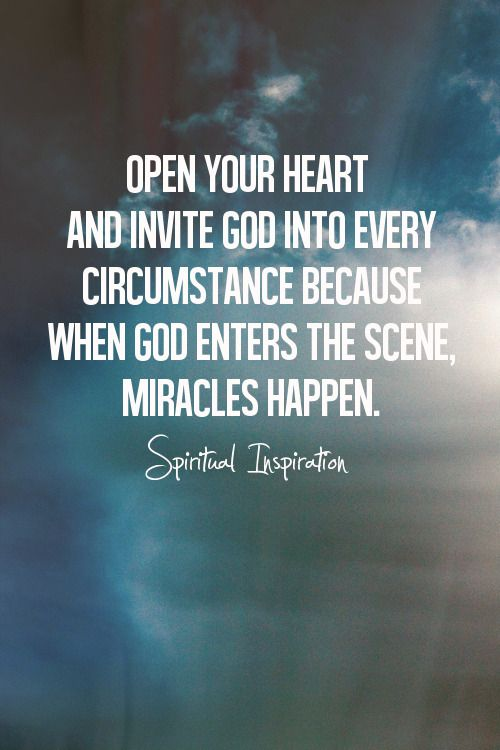 When God Enters The Scene Miracles Are Possible And The