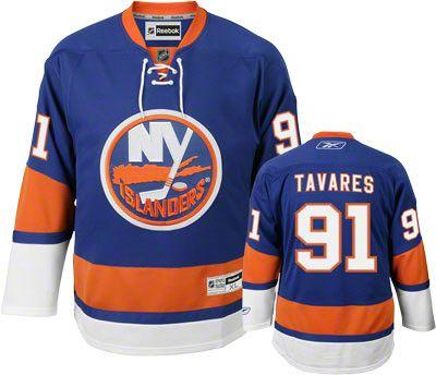 cc46b4e2 New York Islanders John Tavares Jersey: Reebok Premier Blue #91. JT has  become a true NHL superstar