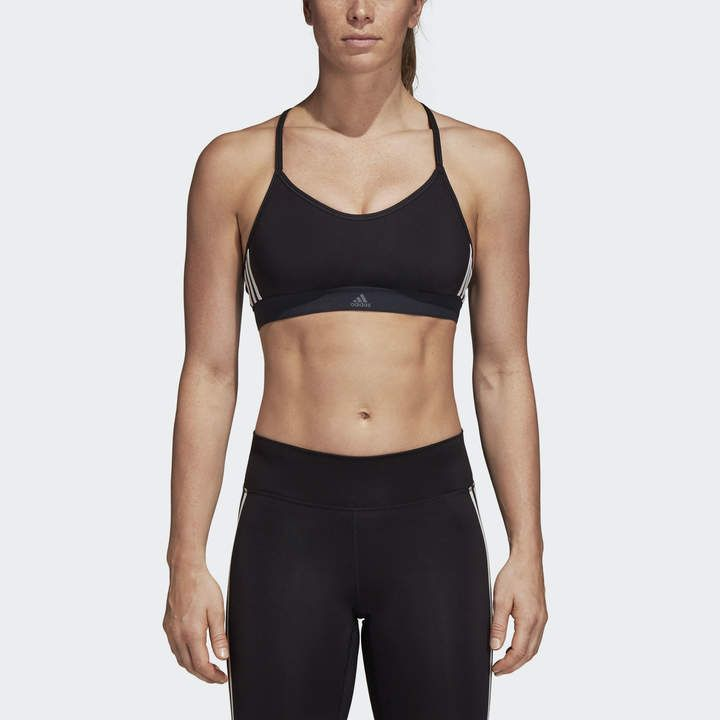 f0b19a539f Stronger For It Soft Printed Bra in 2019 | Products | Black adidas ...