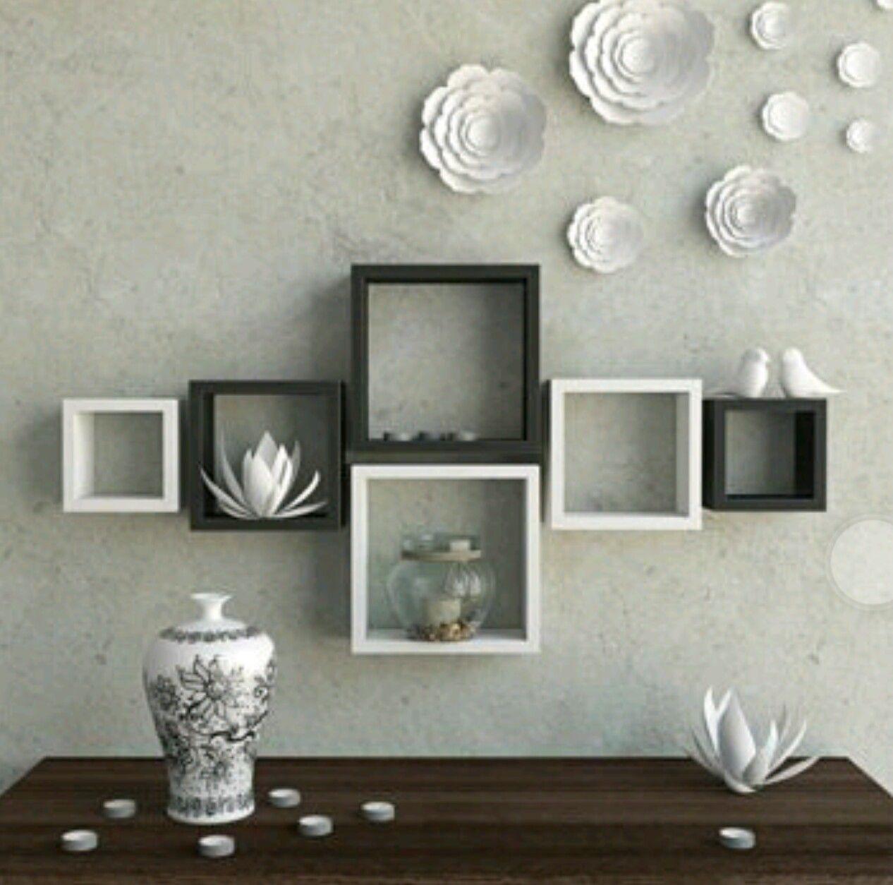 Pin By Roshua On Shelfs Wall Shelves Design Floating Shelves Living Room Room Decor #wall #mounted #shelves #living #room