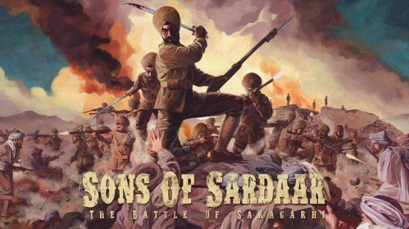Ajay Devgn's Sons Of Sardaar Battle of Saragarhi Poster Release