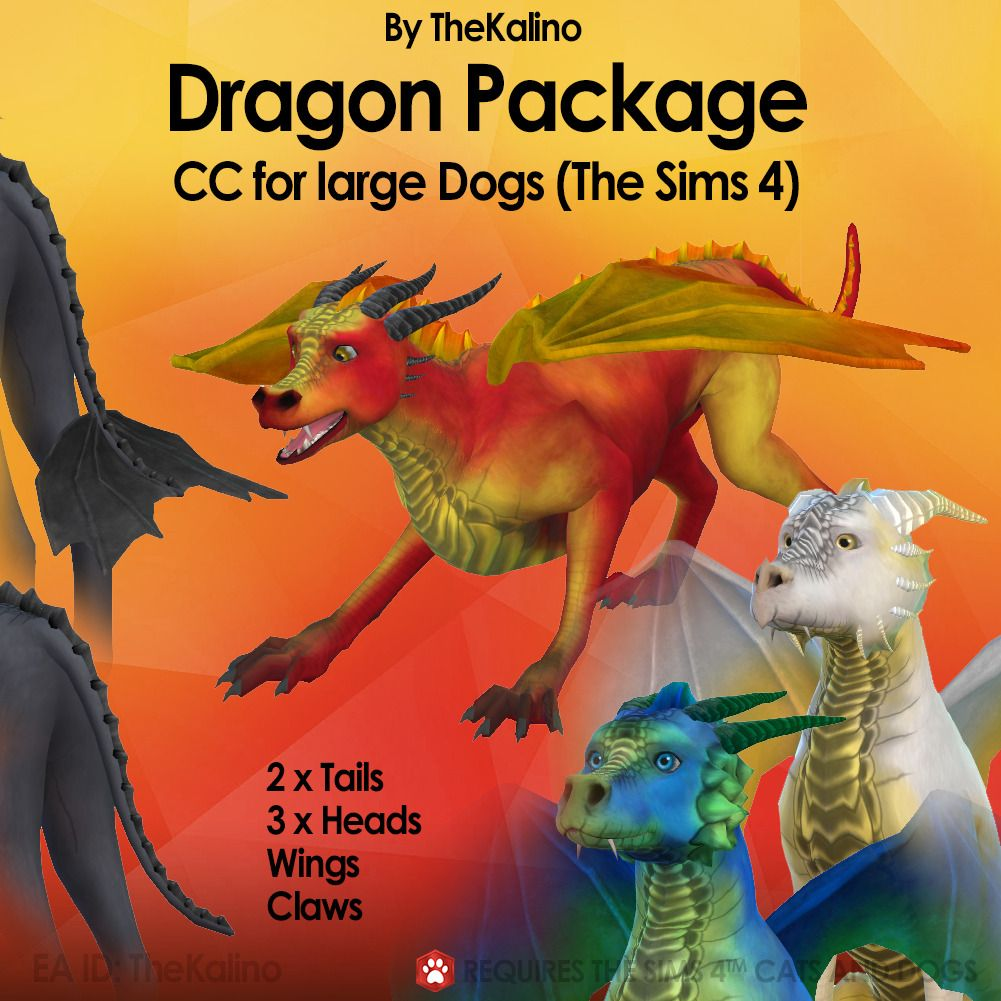The Kalino Small Animal Package And Recolors Sims 4 Pets Sims Pets Sims