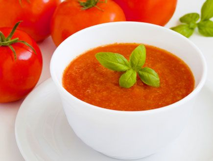 tomato soup by Jamie Oliver