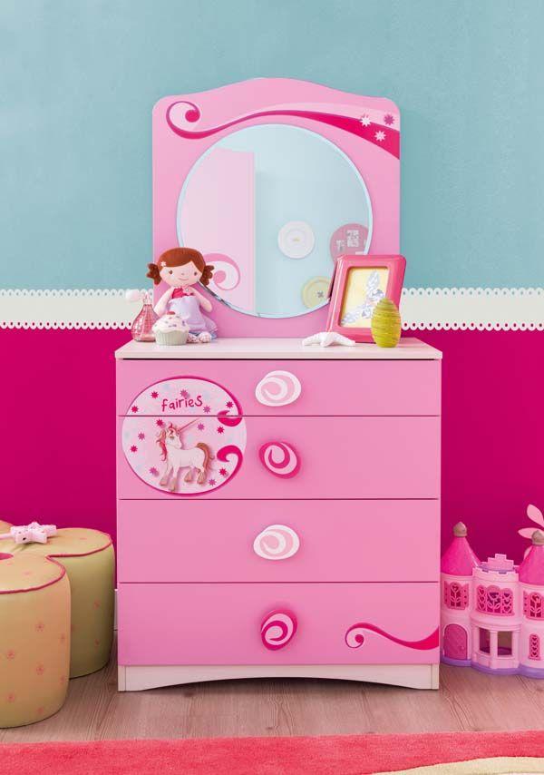 C moda con espejo de la serie princess de cilekspain for Espejo retrovisor para ninos