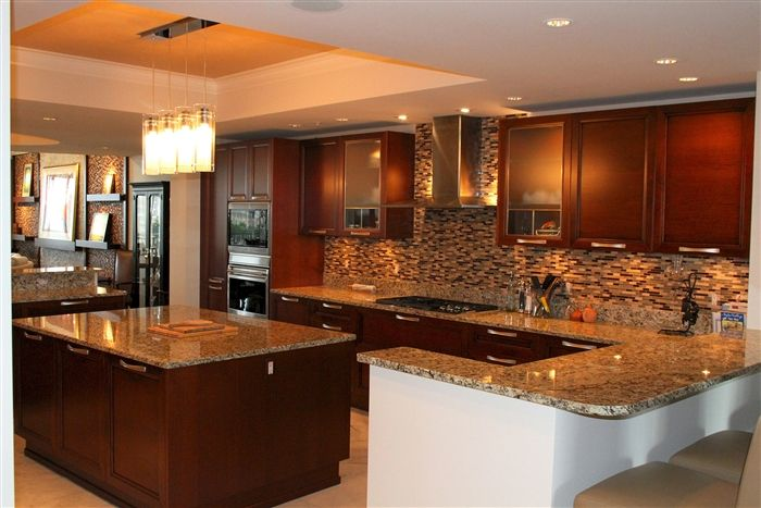 BCBE Construction, Naples, Florida | Kitchen dining room ...