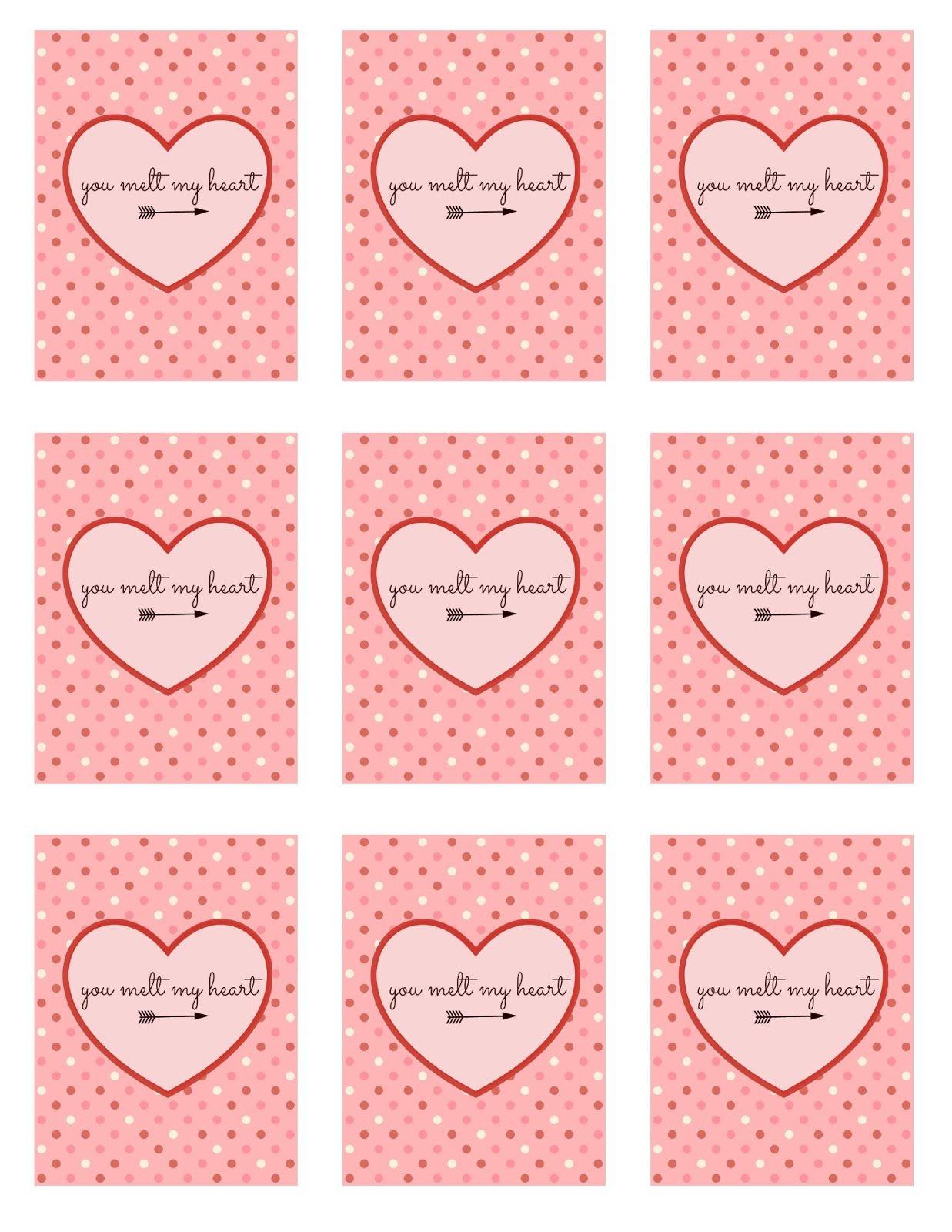 Melted Crayon Valentine