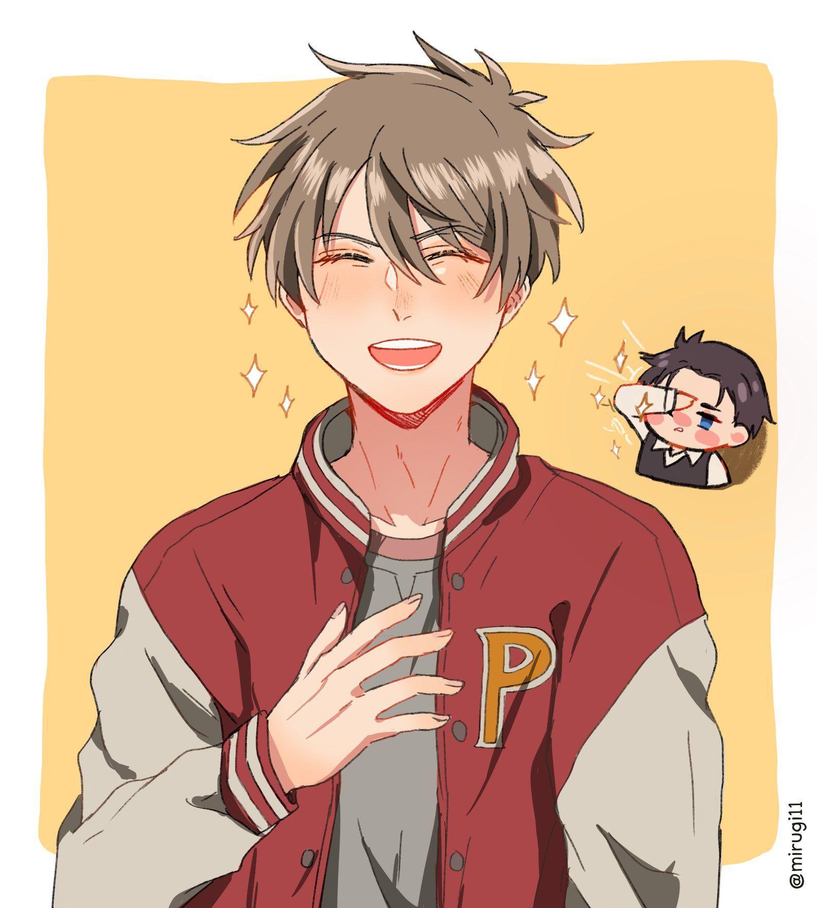 Mirugi On Twitter Detective Aesthetic Detective Anime Boy