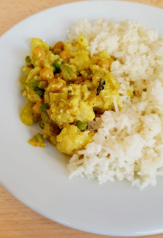 Recette Du Curry Au Chou Fleur Recette Recettes De Cuisine Recette Curry Vegetarien
