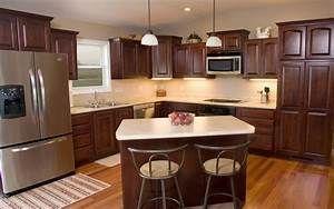 10 X 8 Kitchen With Island 14 11 Kitchendesign10x11