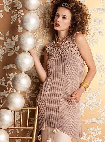 Ravelry: #03 Pearl Bodice Dress pattern by Mari Lynn Patrick