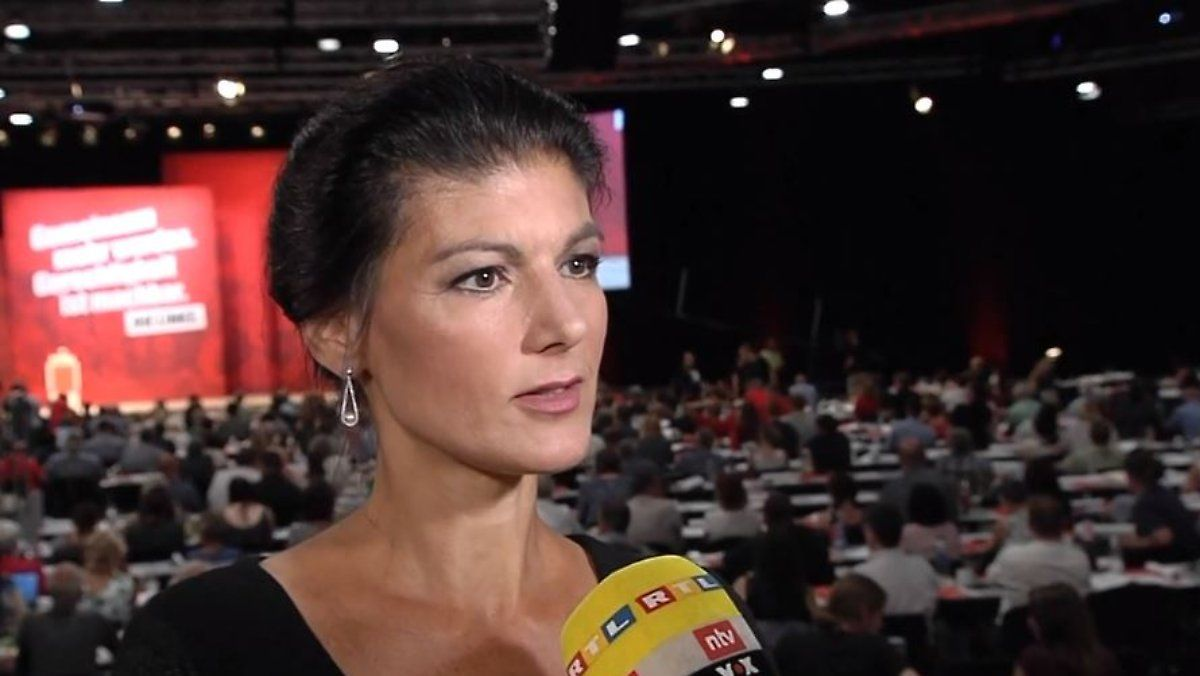 Will Parteispitze Nicht Aus Dem Amt Jagen Sahra Wagenknecht Spitze Und Interview