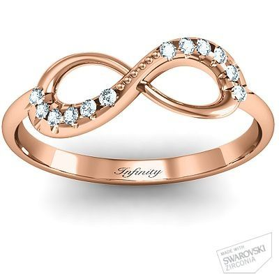 #Personalize this Infinity Accent #Ring #jewelry #girls #perfectandbeautiful