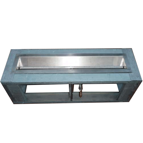 52 X 26 Fire Pit Frame With 6 Wide Deck Manual Gas Burner Fire Pit Frame Glass Fire Pit Gas Fires