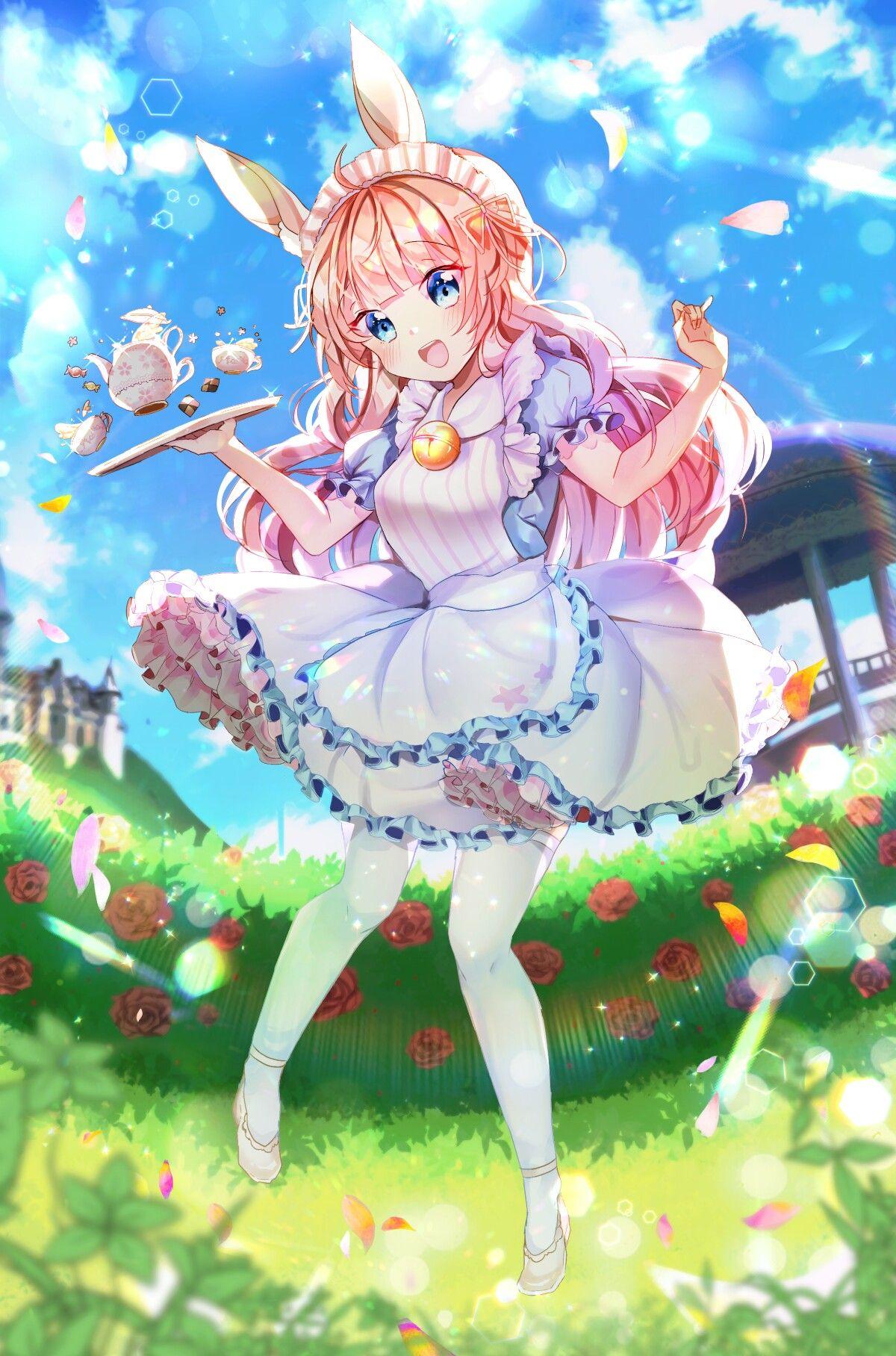 Pin On Anime Art ɓunny ɠirls