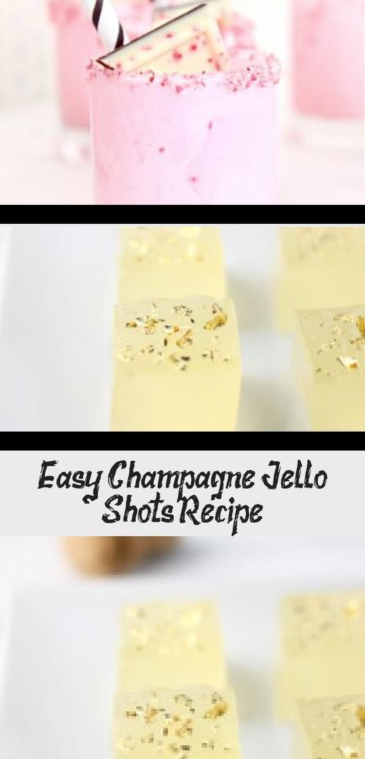 Easy Champagne Jello Shots Recipe #halloweenjelloshots Sugar & Cloth - Sharing how to make jello shots with this super easy champagne jello shot recipe! You can easily customize this recipe to be make with vodka, rum, or tequila. They're perfect for mixing up for holidays! Halloween, Christmas, new years, you name it! #recipe #easy #jello #shots #cocktails #recipenewyear #jelloshotsvodka