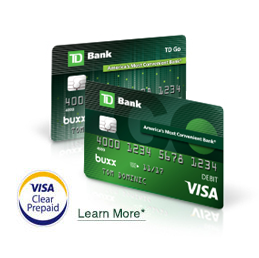 td go the reloadable prepaid card for teens td bank - Reloadable Prepaid Credit Cards