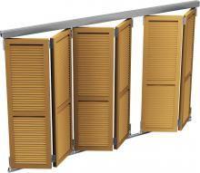 WIN-FOLD® | Volet pliant, Porte pliante et Facade bois