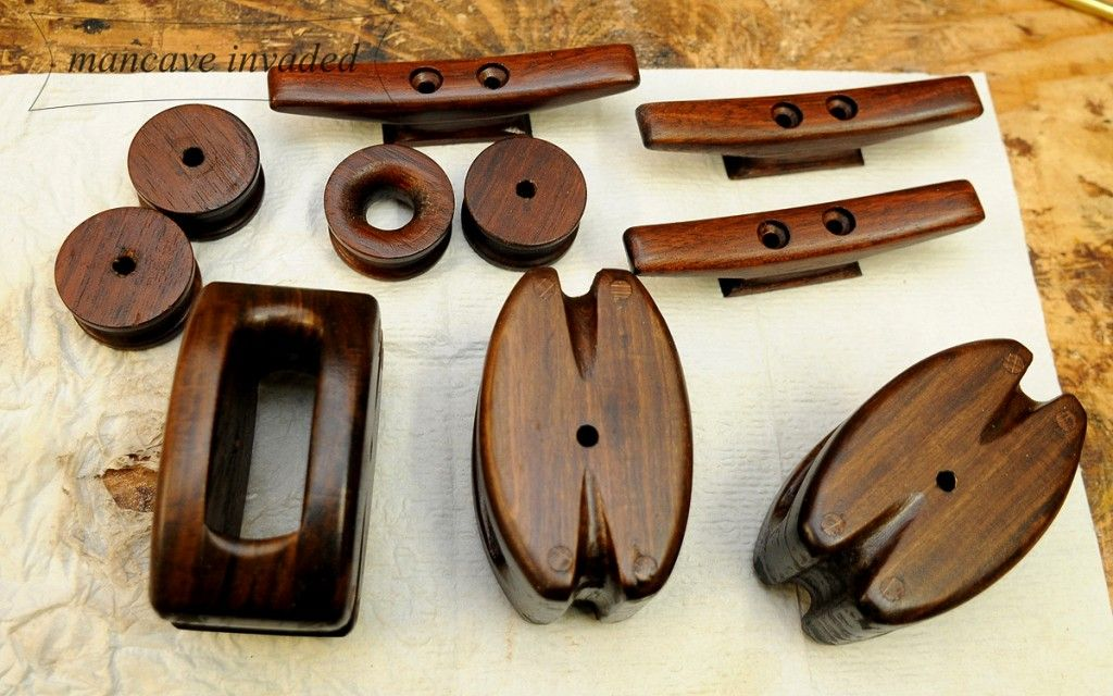 wooden block and tackle diy - Google-Suche   Block and Tackle   Pinterest   Boating, Boat ...