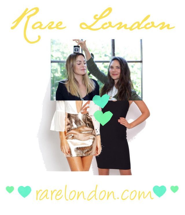 """""""Stare a Rare!"""" by itshallbe on Polyvore featuring beauty and Rare London"""